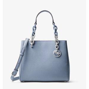 🌷Cynthia Saffiano Link Chain Leather Satchel🌷